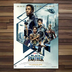 Black Panther Movie Official Poster - 2018 Film - High Quality Prints 001