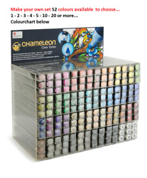 Markers by Chameleon - Alcohol Ink Markers - choose your set 52 colors available