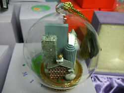 FLAVIA MILANO BOSTON ORNAMENT NEW IN BOX 5.00 retails 49.99