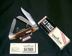 Schrade 89ot Knife Usa Old Timer The Blazer 4 Closed W/packagingpapers Rare
