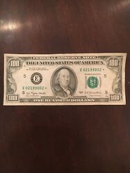 1977 Federal Reserve Star Note One Hundred Dollar Bill...100