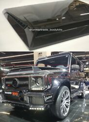 Carbon Fibre Hood Cover Scoop for Merecdes-Benz G-Class W463 BRABUS B900 Style