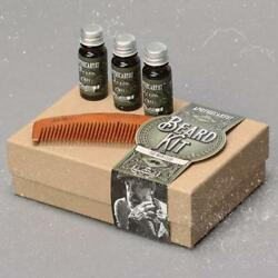 Apothecary 87 All Three Oil Scents 10ml and Comb Dopp Bag Beard Kit