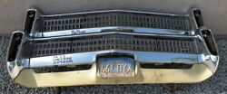 X Chrysler Imperial New Triple Plated Chrome Front Bumper 1972-1973 72-73 Oem