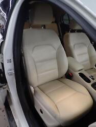15 GLA250: Right Front Passenger Seat Leather Air Bag Memory Heated; Beige 105A