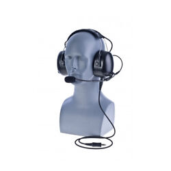 Impact K2-pdm-2w/pdm-2-cable Dual Muff Headset For Kenwood Tk And Nexedge