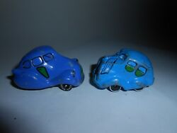 RARE SET 2 1ST & 2ND ISSUE VTG 1970S/1980S HALLMARK CARDS ROAD ROVERS BLUE BLOB