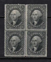 Usa 36b Mint Fine - Very Block Unused No Gum With Certificate