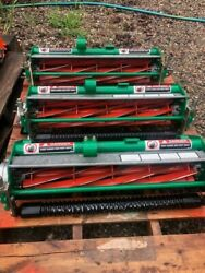 Ransomes Jacobsen Cutting Units For Greensking Triplex Mower 9 Blade Set Of 3