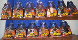 Star Wars Revenge of the Sith LOT(63)Action Figures Includes(3)ROTS Vehicles