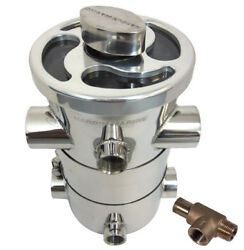 1-1/4 Npt Ho Competition Dual Basket Sea Strainer W/pressure Relief 620-913204