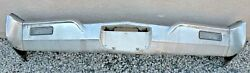 X Chrysler Imperial New Triple Plated Chrome Front Bumper 1968 68 Oem