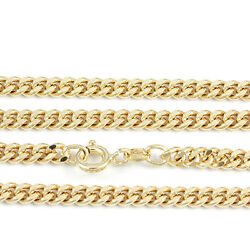 18k Yellow Gold Curb Chain New Width 3.5mm2184