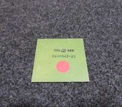 0600523-23 Cessna L-19 Weight Rudder New Old Stock
