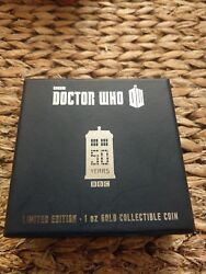 2013 Niue Doctor Who 50th Anni Tardis $200 Gold Proof Coin Box Coa Issue 250