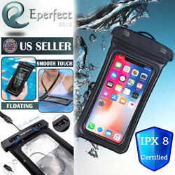 Floating Waterproof Bag Case Underwater Pouch for iPhone 12 11 Pro Max XS 8 Plus $7.99