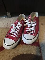 Converse All Star Chuck Taylor Canvas Shoes Low Size 9 Menandrsquos