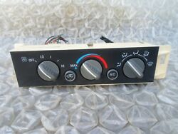 96-99 CHEVY TAHOE GMC SIERRA DASH AC HEATER CLIMATE TEMPERATURE CONTROL OEM 5