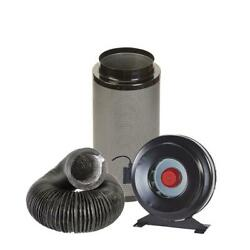 Hydroponic Fox Carbon Filter Inline Extractor Fan Kit 12