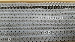 6 X 1-5/8 Collated Coarse Ext Coated Screws Phillips Bugle Head 3000 Screws
