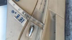 Driver Front Door Electric With Infrared Glass Fits 06-10 Bmw 550i 21297