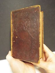 1864 Civil War French Bible - Printed In New York - American Bible Society