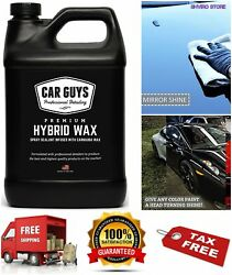 Ceramic Car Coating KIT Liquid Wax Anti Scratch 1 Gallon Bottled and Made IN USA