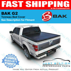 Bakflip G2 Tri-fold Bed Cover For 2016-17-18-19 Toyota Tacoma 6and039 Bak 226427