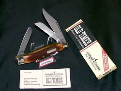 Schrade 89ot Knife Blazer Sfo Usa Made Old Timer 4 Closed W/packagingpapers