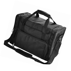 AMPERSAND SHOPS Professional Hair Make-Up and Cosmetic Organizer Travel Bag