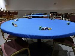 Poker Cover Made In Speed Lite - Fits Any Lifetime Round Folding Table - Fs Npd
