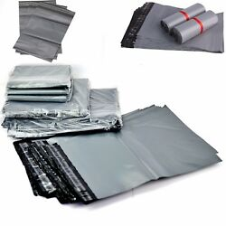 Strong Grey Mailing Bags 24x 36 Poly Postal Postage Self Seal Packaging Sacks