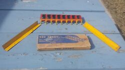 Vintage 1920's 1930's Aaron Hess You Shoot Marble Bull's Eye Game With Box Tin