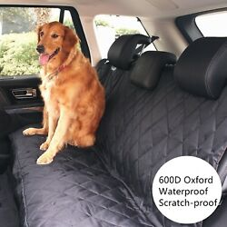 Pet Dog Waterproof Back Rear Seat Bench Mat Cover For Trucks-auto-suvs- Car