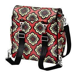 Boxy Back Pack Diaper Bag in Lively Lima Multiple Options Changing Carrying