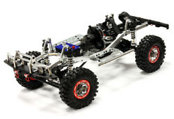 Rc Car C24866silvert3 Machined 1/10 Trail Roller 4wd Off-road Scale Crawler Artr