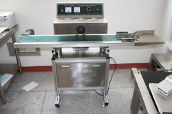 Vertical Electromagnetic Induction Sealer Continuous Sealing Machines Packing