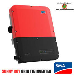 Sma Sunny Boy Sb6.0-1sp-us-40 Grid Tie Inverter With Secure Power Supply
