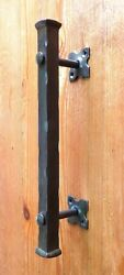 Barn Push Pull Door Handle 12 Wrought Iron Front Entrance Farmhouse Entry Gate