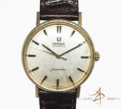 Omega Seamaster Automatic Textured Dial Vintage Watch [rare]