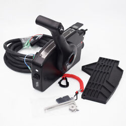 Boat Motor Side Mount Remote Control Box With 8 Pin Cable 15ft For Mercury Great