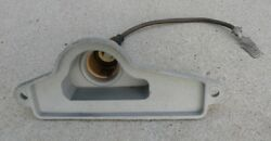 Cadillac Right Rear Back Bumper License Plate Tag Light Lamp Housing 66 1966 Oem