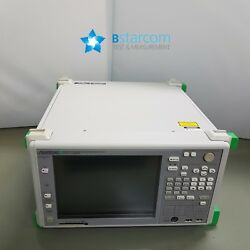 -This unit is used and untested. It isAnritsu MP1590B Network Performance Tester