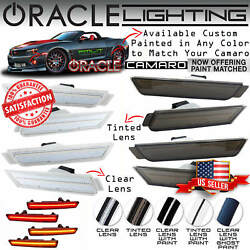 Oracle Led Sidemarkers For 10-15 Chevrolet Camaro - Clear And Tinted - 3101