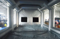 Oxfoard Tent Cloth Painting Spray Booth w/ Filter System & 2* Blowers Supply
