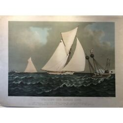 Currier And Ives Nearing The Finish Line 1887