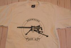 Browning 1919 A4 T Shirt Size New Adult Small Browning 1919a4
