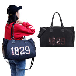Women Travel Totes Shoulder Bag High Capacity Waterproof Sports Handbag $29.03