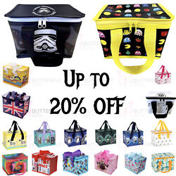 Children's Kids Adult Lunch Bags Insulated Cool Bag Picnic Bags School Lunchbox
