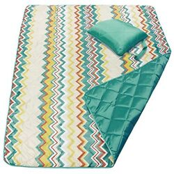 HF6 Waterproof And Sand proof Picnic Blanket For CampingBeach OutdoorTote Bag
